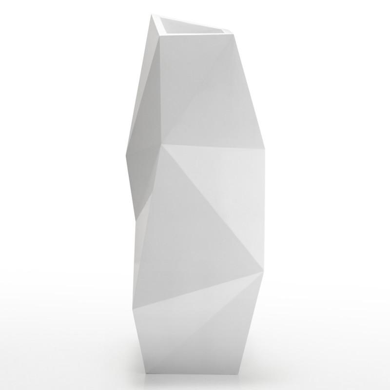 pot haut design faz vondom blanc cerise sur la deco. Black Bedroom Furniture Sets. Home Design Ideas