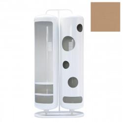 Vestiaire Bi-Cylindre Brillant, Tolix muscade
