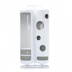 Vestiaire Bi-Cylindre Brillant, Tolix blanc