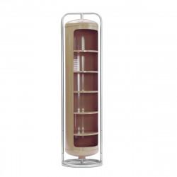 Vestiaire Mono Cylindre Brillant, Tolix muscade