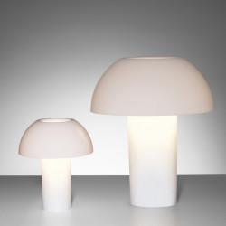 Lampe de table Colette, Pedrali blanc Taille L