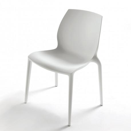 Chaise design Aqua blanc