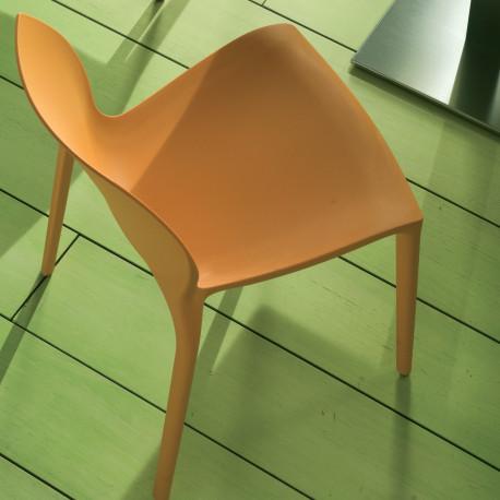 Chaise design Aqua orange