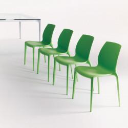Chaise design Aqua vert