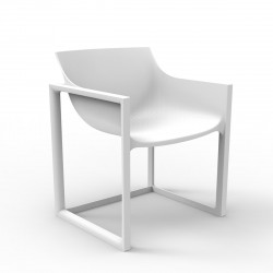 Lot de 2 chaises Wall Street, Vondom blanc