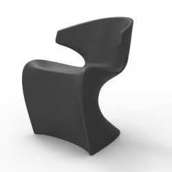 Chaise Wing, Vondom anthracite Mat