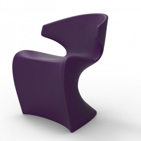 Chaise Wing, Vondom violet Laqué