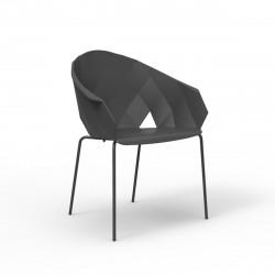 Lot de 4 chaises Vases, Vondom noir