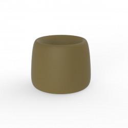 Pot Organic Redonda, Vondom kaki D34xH27 cm