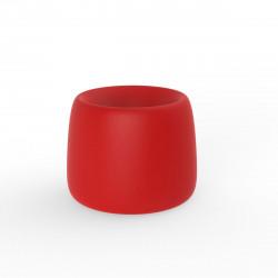 Pot Organic Redonda, Vondom rouge D34xH27 cm