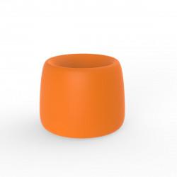 Pot Organic Redonda, Vondom orange D34xH27 cm