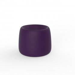 Pot Organic Redonda, Vondom violet D34xH27 cm