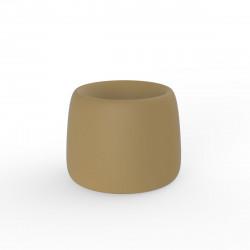 Pot Organic Redonda, Vondom beige D34xH27 cm
