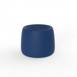 Pot Organic Redonda, Vondom bleu D34xH27 cm
