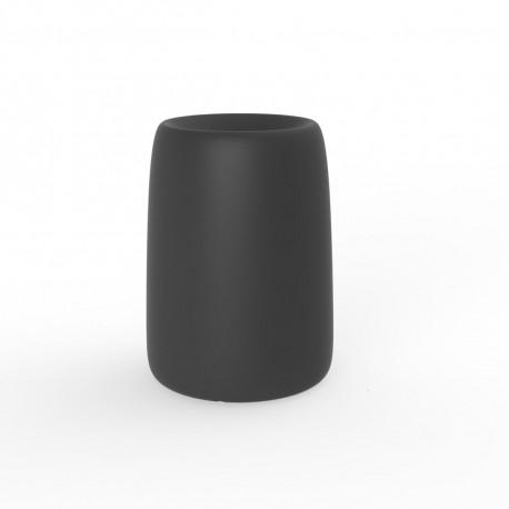 Pot Organic Redonda Alta, Vondom anthracite D35xH48 cm
