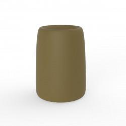 Pot Organic Redonda Alta, Vondom kaki D35xH48 cm