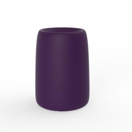 Pot Organic Redonda Alta, Vondom violet D35xH48 cm