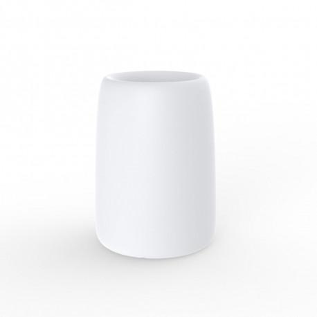 Pot Organic Redonda Alta, Vondom blanc D35xH48 cm