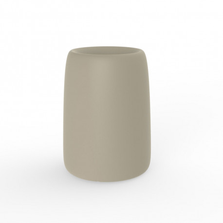 Pot Organic Redonda Alta, Vondom ecru D35xH48 cm