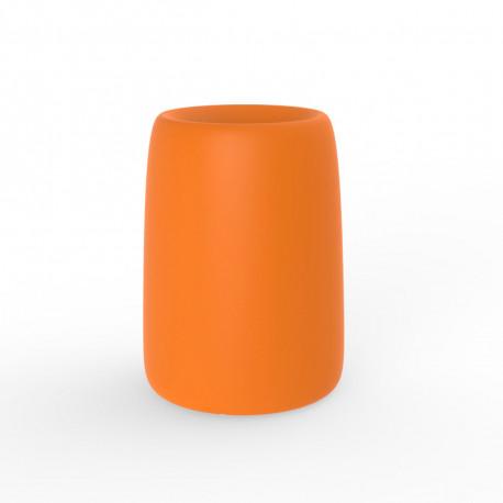 Pot Organic Redonda Alta, Vondom orange D35xH48 cm