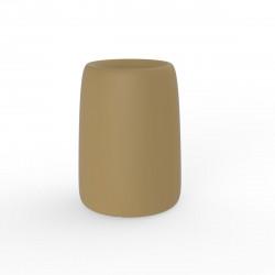 Pot Organic Redonda Alta, Vondom beige D35xH48 cm
