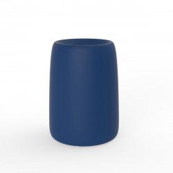 Pot Organic Redonda Alta, Vondom bleu D35xH48 cm