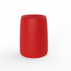 Pot Organic Redonda Alta, Vondom rouge D42xH57 cm