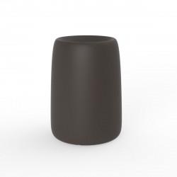 Pot Organic Redonda Alta, Vondom bronze D51xH69 cm