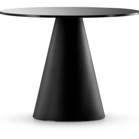 Table Ikon 869, Pedrali noir Diamètre 129 cm