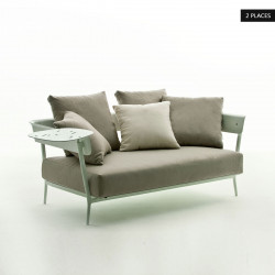 Canapé Aikana, Fast taupe 151x87xH42 cm