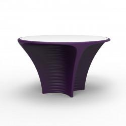 Table Biophilia, Vondom violet Non-lumineux