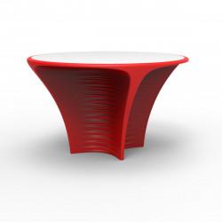 Table Biophilia, Vondom rouge Non-lumineux