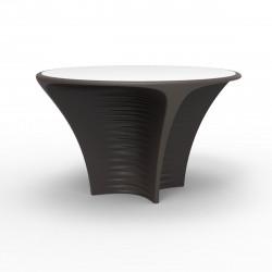 Table Biophilia, Vondom Bronze Non-lumineux