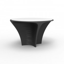 Table Biophilia, Vondom gris anthracite Non-lumineux