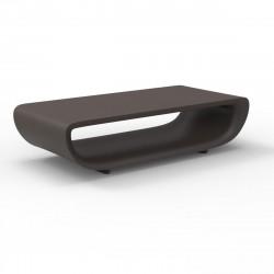 Table basse Bum Bum, Vondom bronze Non-lumineux