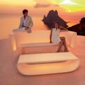 Table basse Bum Bum lumineuse LED blanc, Vondom