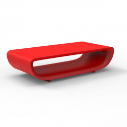 Table basse Bum Bum, Vondom rouge Lumineux