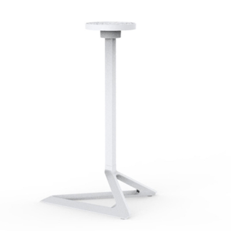 pied de table delta vondom blanc fixe h73 cm cerise. Black Bedroom Furniture Sets. Home Design Ideas
