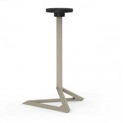 Pied de table Delta, Vondom ecru Basculant, H105 cm