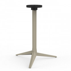 Pied de table Faz, Vondom ecru Fixe, H73 cm