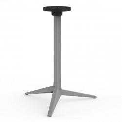 Pied de table Faz, Vondom acier Basculant, H73 cm