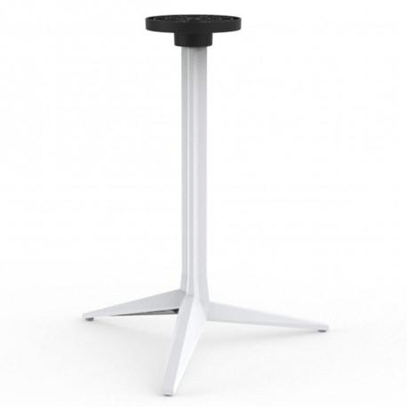 Pied de table Faz, Vondom blanc Basculant, H105 cm