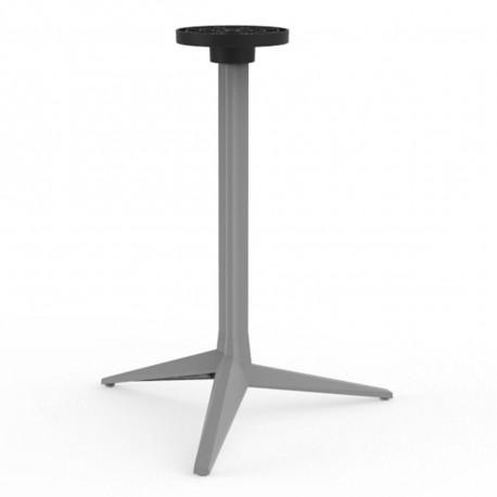 Pied de table Faz, Vondom acier Basculant, H105 cm