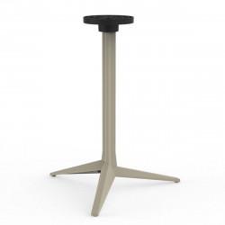 Pied de table Faz, Vondom ecru Basculant, H105 cm