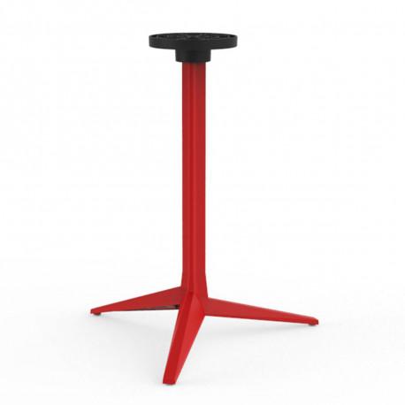 Pied de table Faz, Vondom rouge Basculant, H105 cm