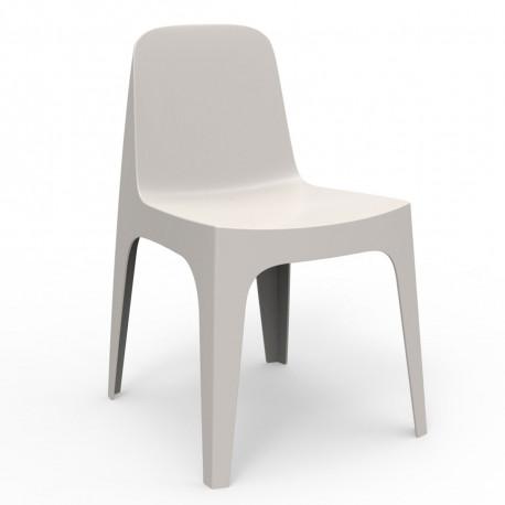 Chaise Solid, Vondom ecru