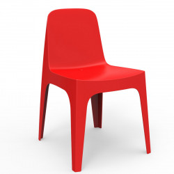 Chaise Solid, Vondom rouge