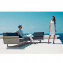 Canapé Flat, Vondom bronze 3 places