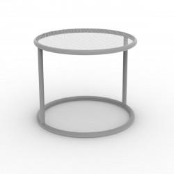 Table basse Kes, Vondom acier Diamètre 40 cm