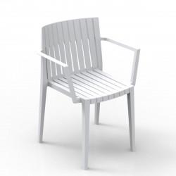 Chaise Spritz, Vondom blanc Avec accoudoirs